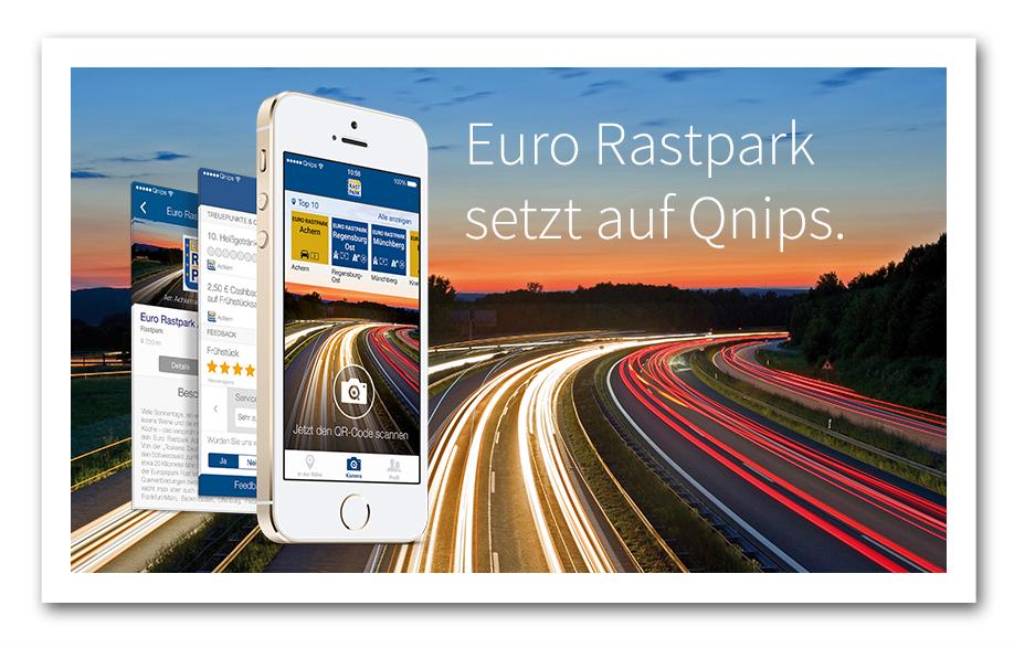 Euro Rastpark setzt auf Qnips.