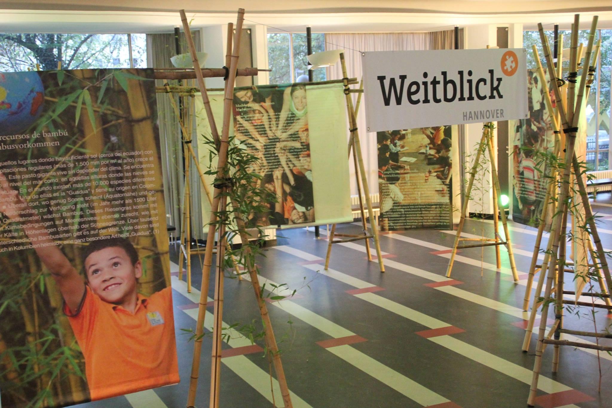 Bambuswaldausstellung von Weitblick Hannover e. V.