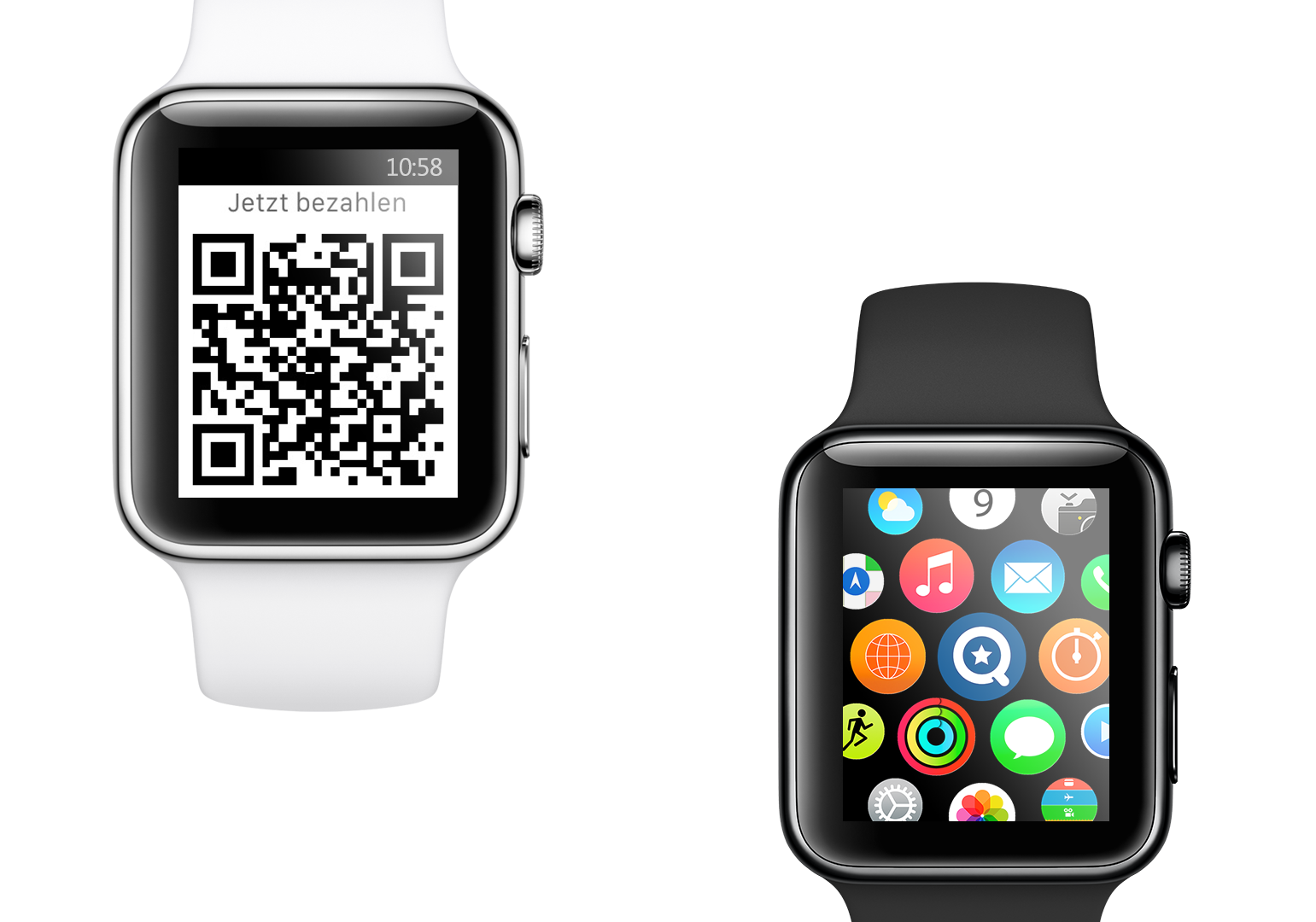Qnips | Mobile Payment via Smartwatch
