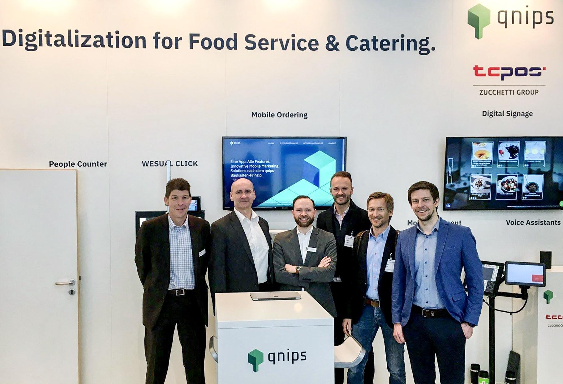 qnips auf der Internorga 2018