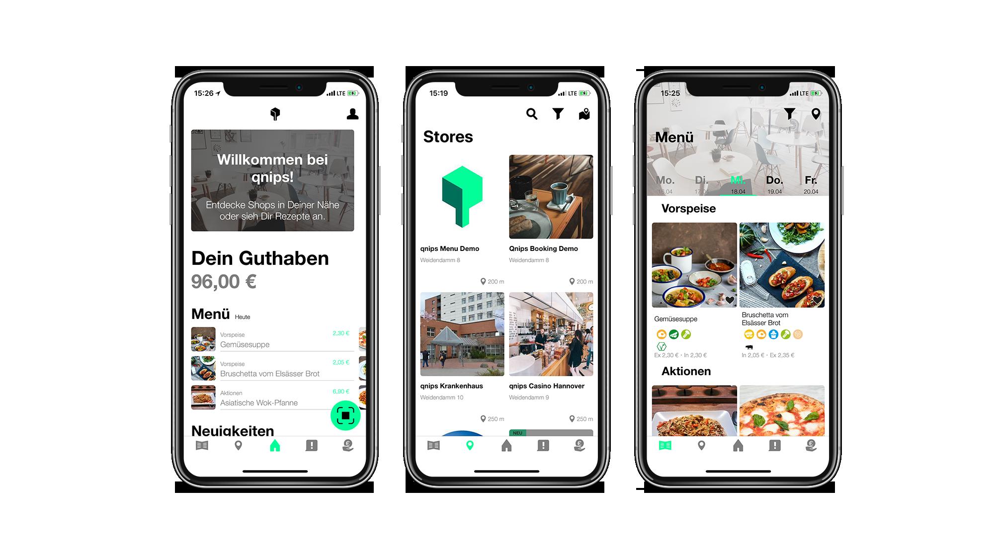 Neues qnips Design für Benutzerfreundlichkeit