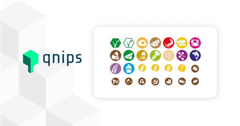 qnips veröffentlicht eigene Speiseplan Icons