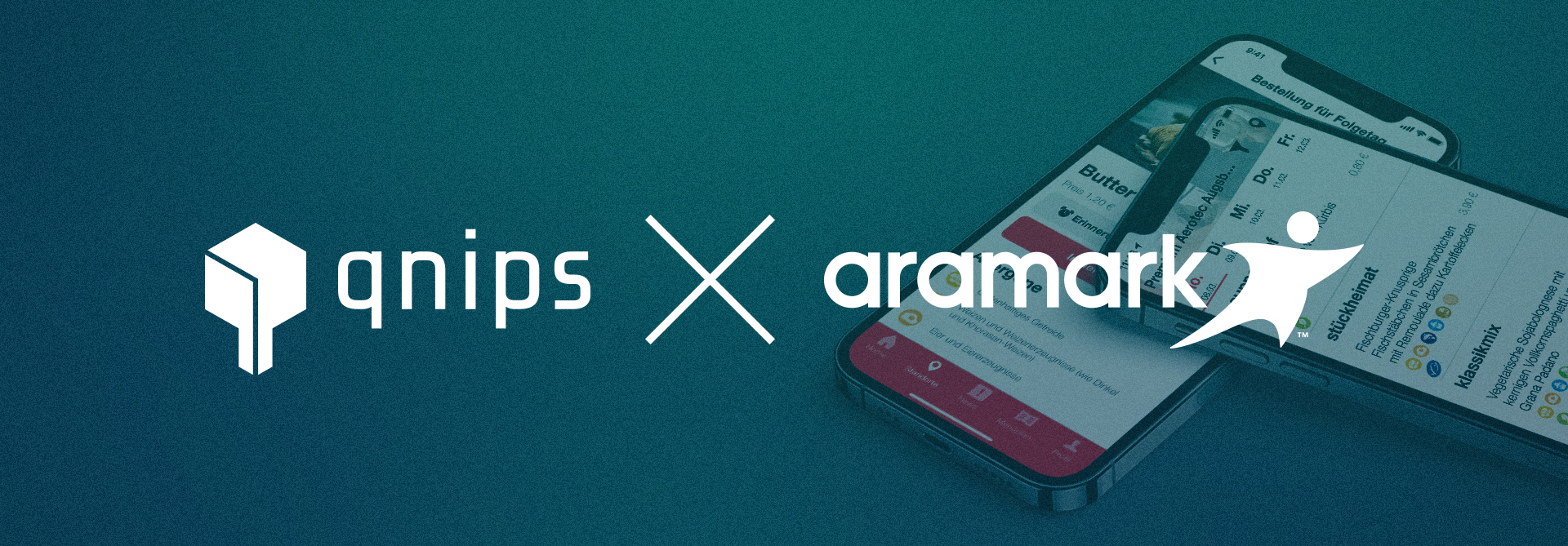 Cooperation between qnips and Aramark Germany