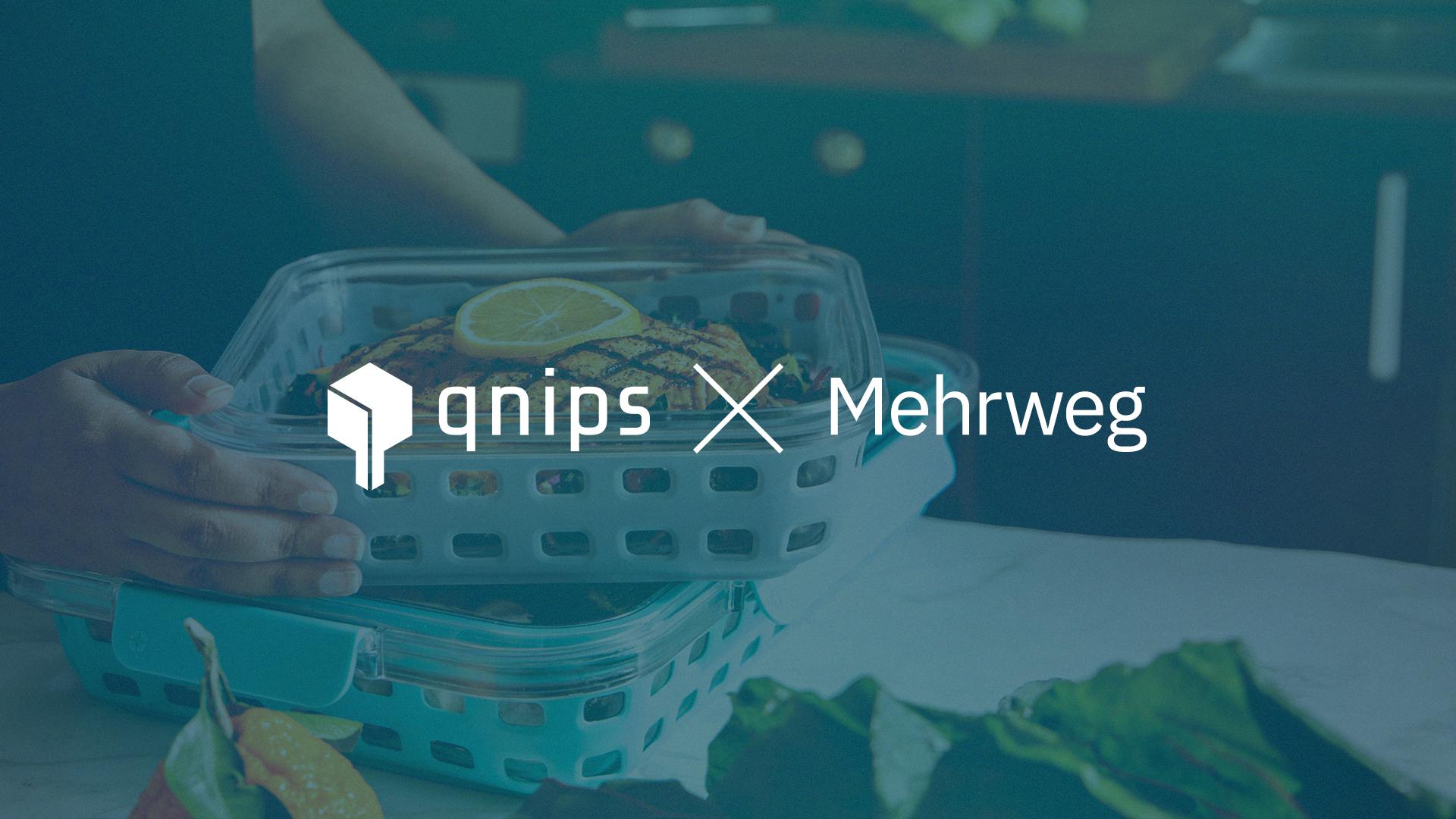 Die qnips Plattform bietet eine Integration für Mehrwegsysteme