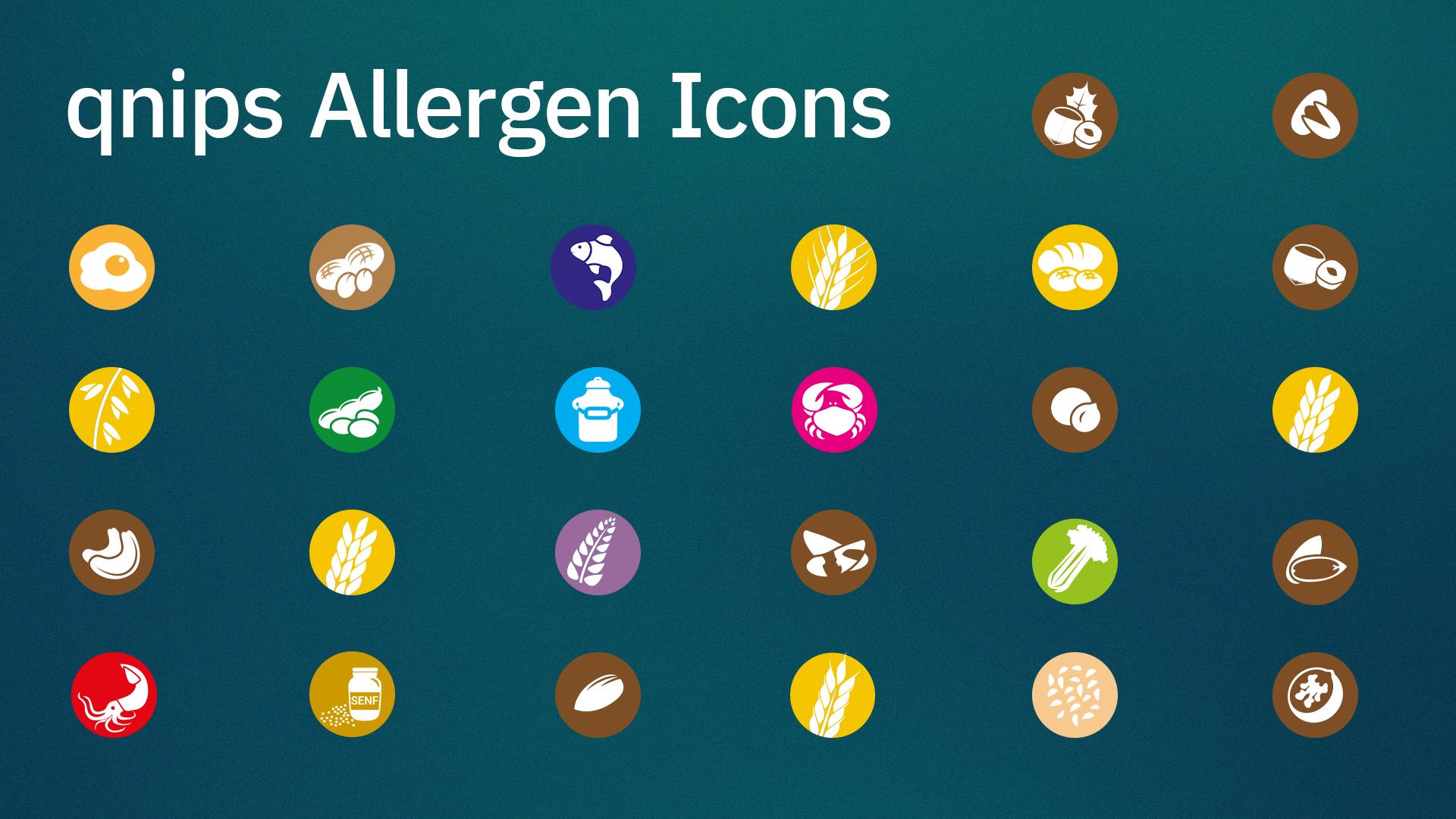 qnips Allergen Icons