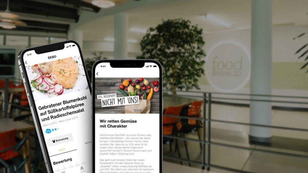 Dussmann Catering hat gemeinsam mit qnips die Delightful App entwickelt.
