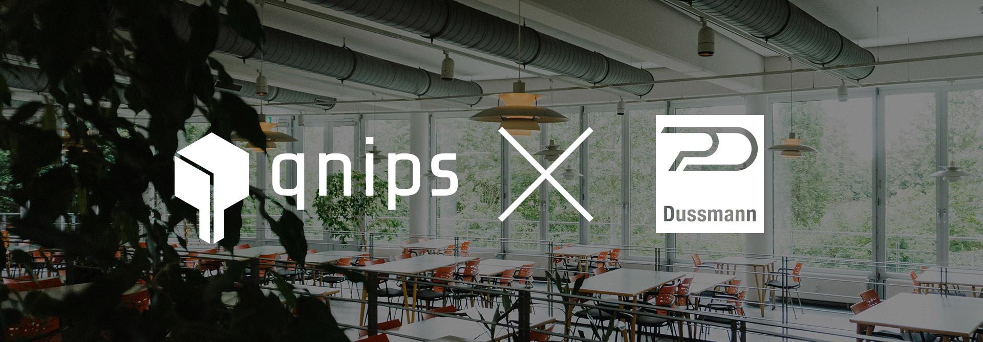 Kooperation von qnips und Dussmann Catering